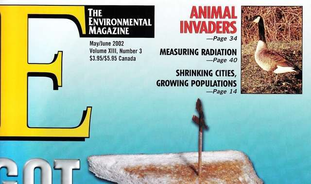 E-The Environmental Magazine May-June 2002 cover
