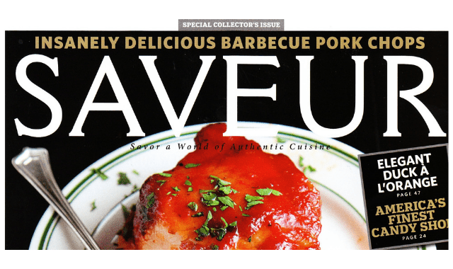 Saveur Oct 2010 cover