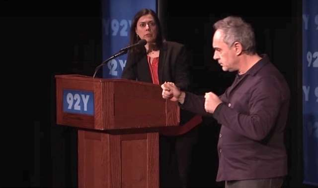 Ferran and I at 92nd St Y