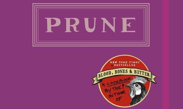 Prune Cookbook cover