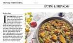 WSJ paella article+recipe