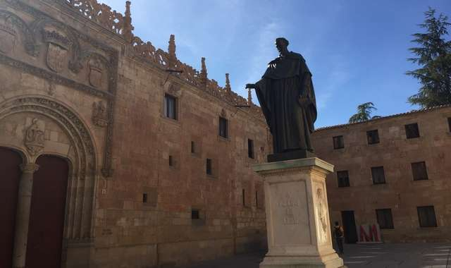 Statue of Fr Luis de Leon in Salamanca